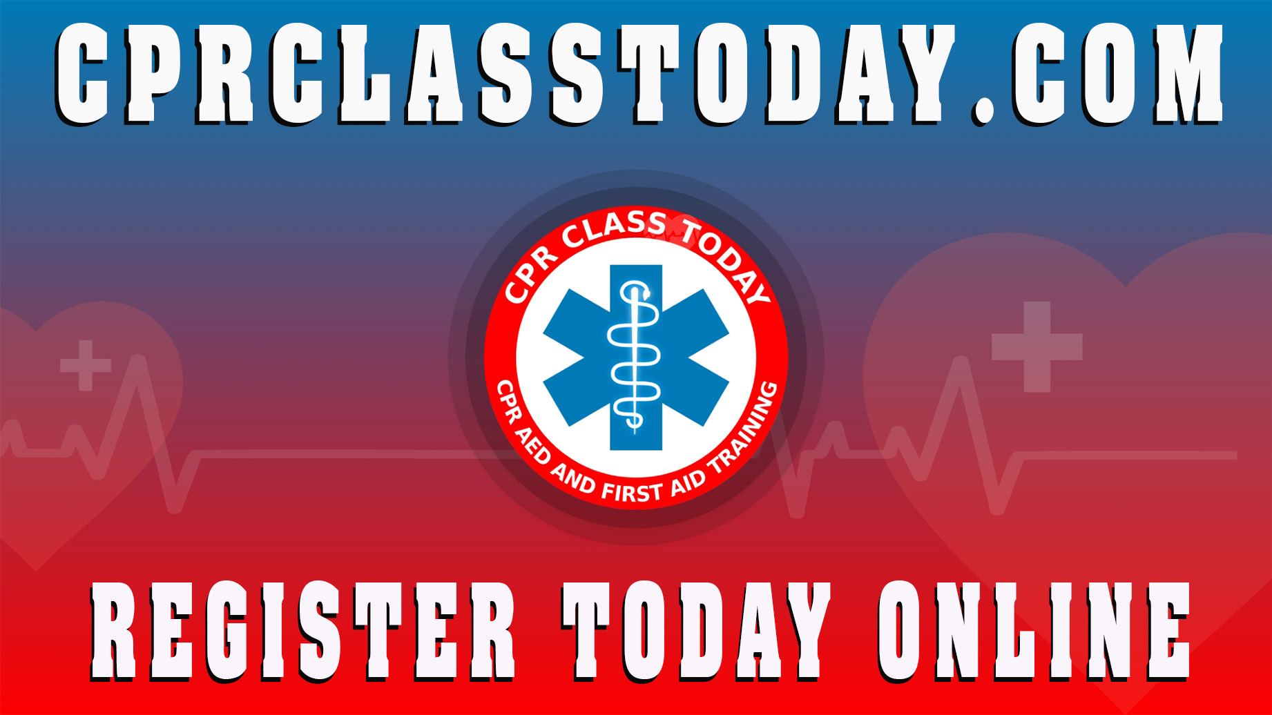 CPR Class Today is an Authorized Training Site of The American Heart Association